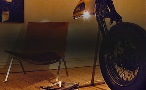Предметы интерьера <br>Harley-Davidson